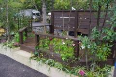 日比谷公園ガーデニングショー デッキのある暮らし(緑のある部屋) 2013年銅賞受賞作品